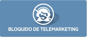 Bloqueio de telemarketing.