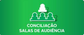 Conciliação salas de audiência.